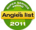 Angies List Award for 2011
