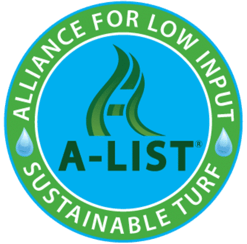 A List approved for water conservation, reduced fertility, traffic, heat, and drought stress tolerances, all with no fungicide or insecticide applications